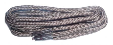 BRITISH QUALITY Hiking and Work Boot Laces Brown 5mm diameter 140cm long